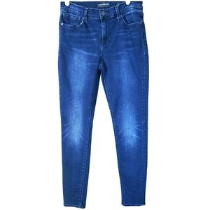 Lucky Brand Brooke Legging Ankle Denim Blue Jeans